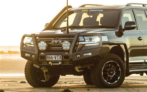 tjm outback bull bar suit toyota landcruiser 200 series