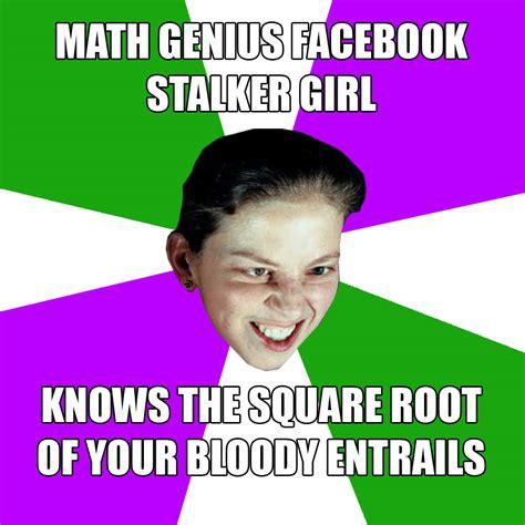 Stalker Girl Meme - facebook share icon memes