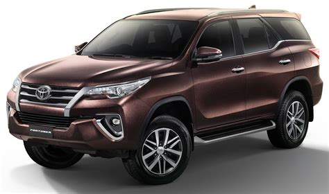 toyota thailand toyota fortuner updated in thailand new 2 4v 4wd model
