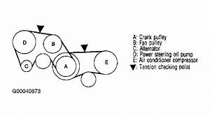 2004 Nissan 350z Serpentine Belt Routing And Timing Belt Diagrams