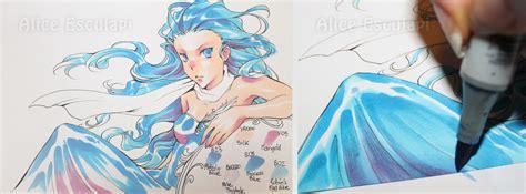 copic italia   draw manga   colori copic ciao