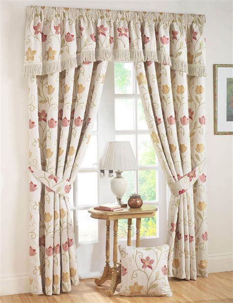 autumn canterbury ready made curtains free uk delivery