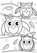 Coloring Owl Tulamama Valentines sketch template