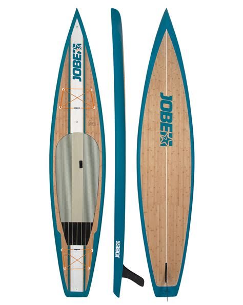 planche stand up paddle planche stand up paddle rigide jobe bamboo 12 6 quot