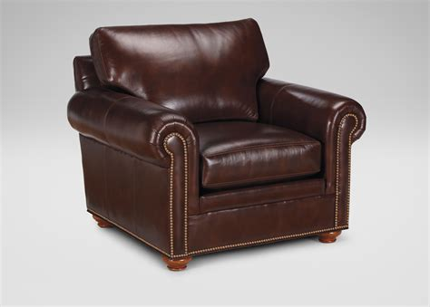 ethan allen armchair ethan allen leather furniture homesfeed 3598