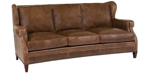 Wingback Loveseat by Leather Wingback Sofa Collection Club Furniture