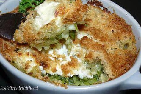 recettes boursin cuisine recette de crumble de courgettes au boursin
