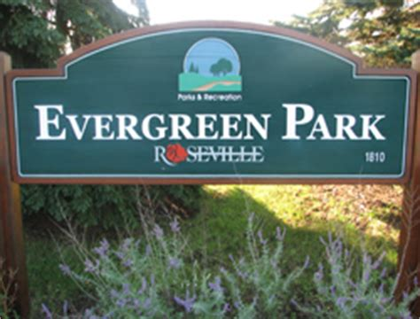 evergreen park roseville mn official website