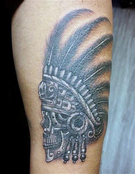 Aztec Warrior Tattoo Designs