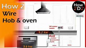How To Wire Oven  U0026 Hob Diversity On A Cooker Circuit