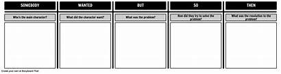 Template Somebody Wanted Then Organizer Graphic Storyboard