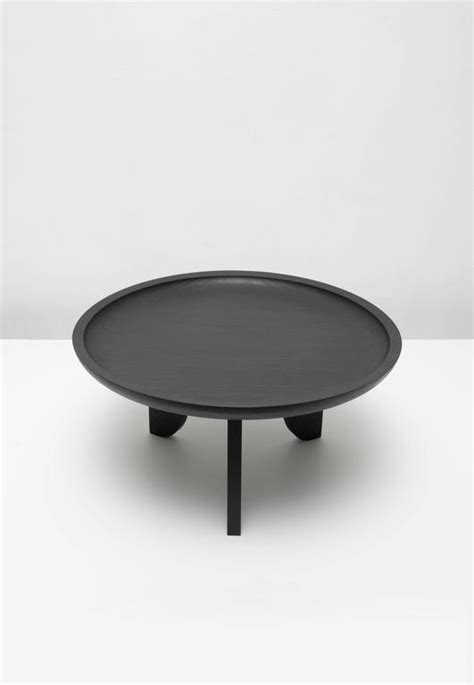 black solid wood coffee table dish solid wood contemporary sculptural carved side coffee