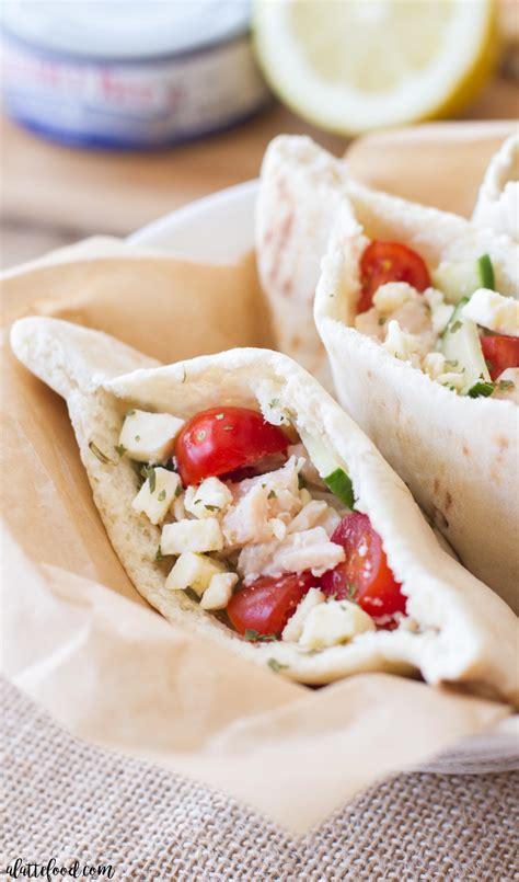 Easy Greek Pita Sandwich - A Latte Food