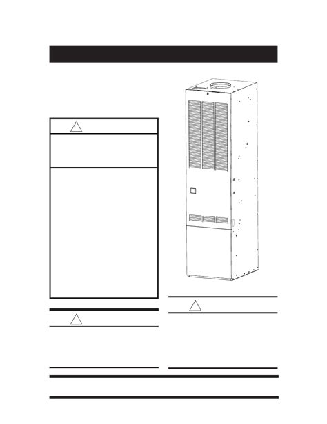 nordyne forced air gas and furnace m1s user s manual free pdf download 40 pages