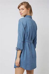 MOTO Denim Shirtdress - Dresses - Clothing - Topshop