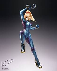 Zero Suit Samus by hybridmink on DeviantArt
