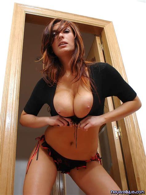 Nayara Blue Shows Her Big Spanish Tits
