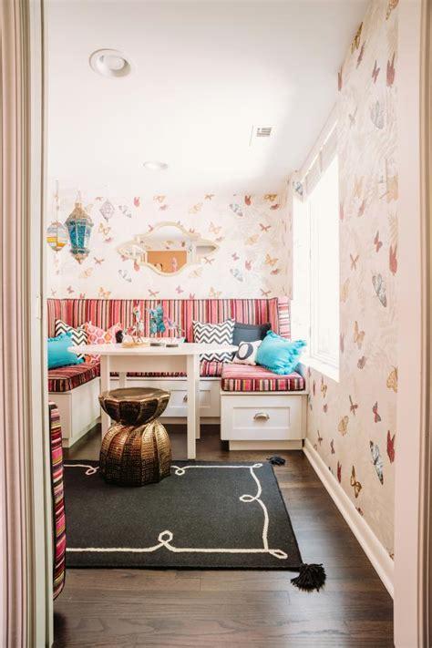 imaginative eclectic girls playroom  hgtv
