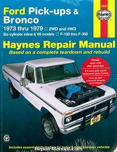 Haynes Ford Pickups And Bronco Truck 1973