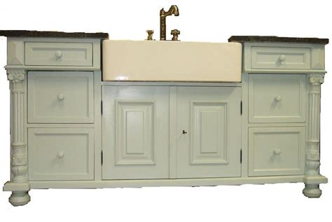 charles iv style freestanding butler sink unit
