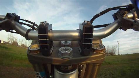 Dirt Bike Shock & Vibe Handlebar Clamps By Precision
