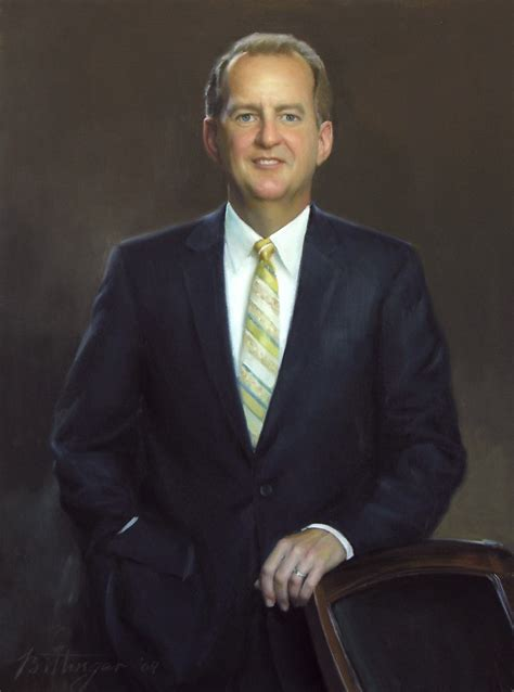 Portrait Painter Ned Bittinger - University, Judicial ...