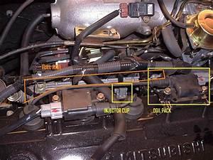 Installing Upgraded Fuel Rail - 4g94