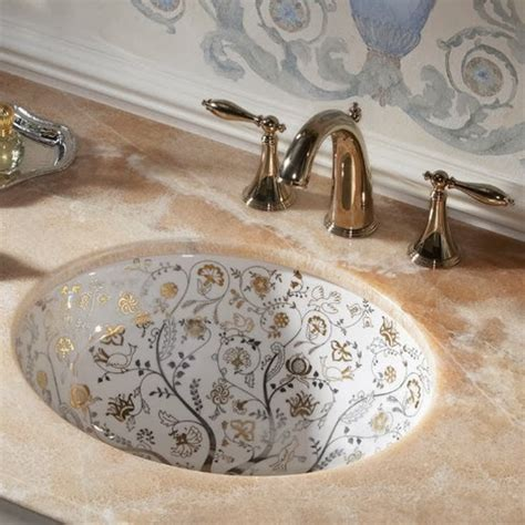can you paint a sink painted bathroom sinks with floral design home design