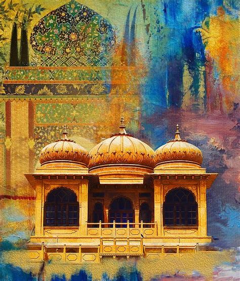 detail  mohatta palace  catf islamic paintings