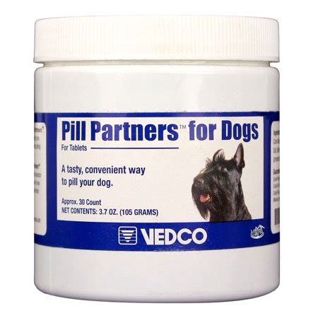 pill partners  dogs small tabletscapsules  count
