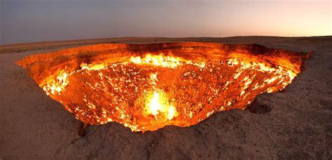 les portes de l enfer se trouvent au turkm 233 nistan le savais tu