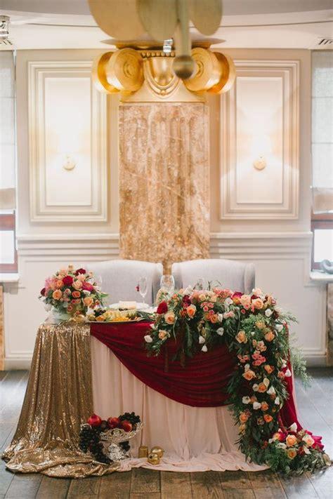 20 Fall Wedding Reception Sweetheart Table Ideas Head
