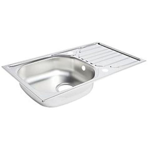 screwfix kitchen sinks kitchen sink drainer stainless steel 1 bowl 760 x 430mm 2130