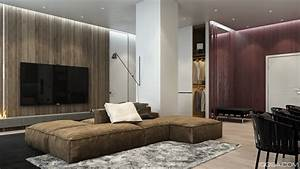 parquet massif et panneau en bois dans 3 maisons design With parquet mural bois