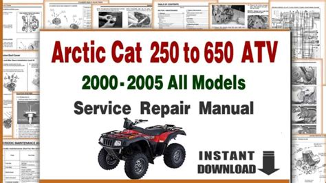 Arctic Cat Utility Atv Service Repair Manual Pdf