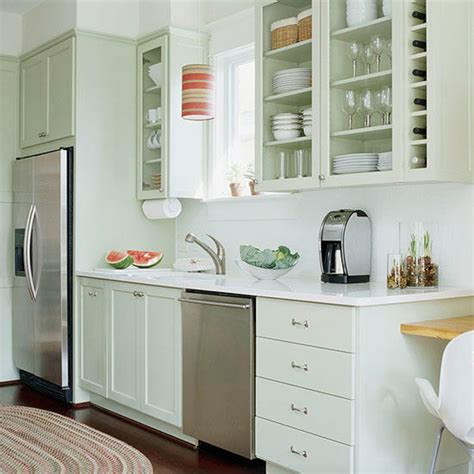 painted kitchen cabinet color ideas kitchen cabinet ideas better homes gardens 7310