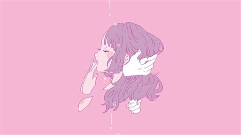 Anime Pink Wallpaper - aesthetic pink desktop wallpapers top free aesthetic