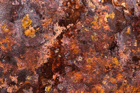 what color is rust rust