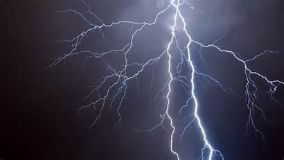 Lightning Wallpapers Onweer Achtergrond Bliksemflits Vertakkingen Fantastic