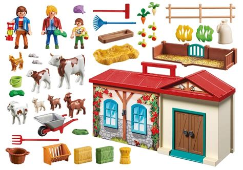 ferme transportable playmobil playmobil country 4897 ferme transportable jeux jouets