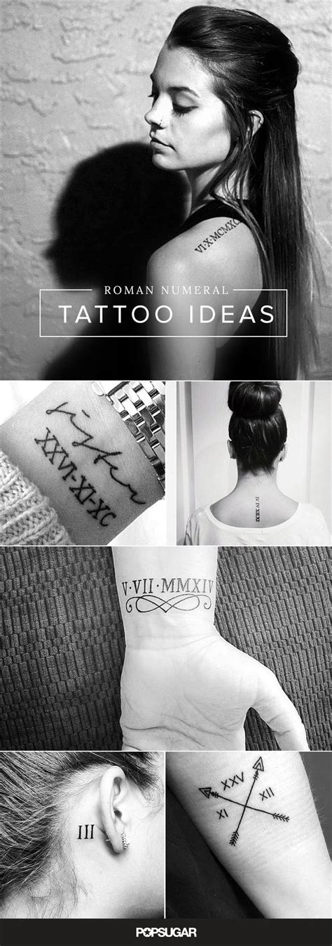100+ Roman Numeral Tattoos That Will Mark Your Most Memorable Date | Roman numeral tattoos, Date