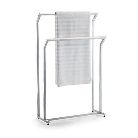 free standing towel rack marais teak stainless free standing towel rack frontgate
