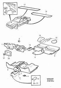 Volvo S90 Absorbent  Insulating Mats  5drs 1995  960  S90  V90  L H D  R H D