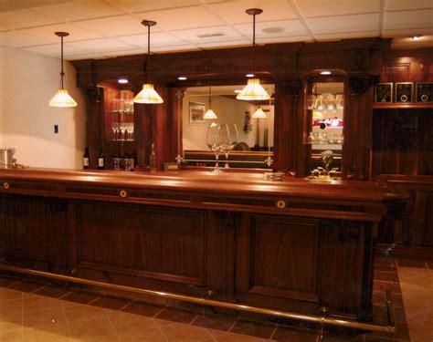 custom  walnut bar  dugans woodworking custommadecom