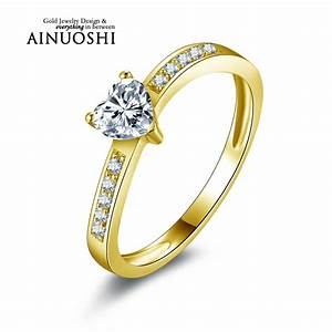 online get cheap heart shaped diamond engagement rings With cheap yellow gold wedding rings