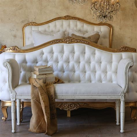 eloquence furniture eloquence mademoiselle antique white bench eloquence