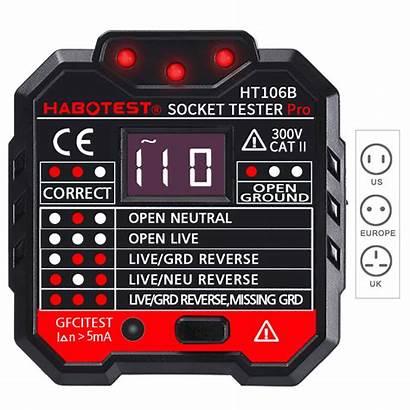 Tester Outlet Banggood Rcd Daniu Finder Circuit
