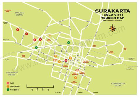 map  solo city surakarta central java