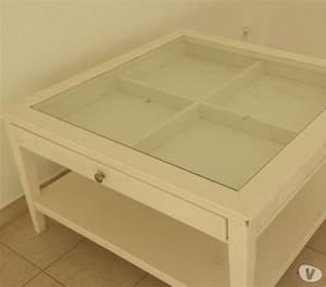 Table Carrée Blanche : table basse ikea blanche clasf ~ Teatrodelosmanantiales.com Idées de Décoration