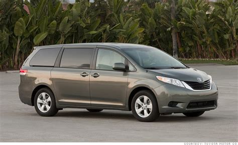 minivan toyota sienna consumer reports names